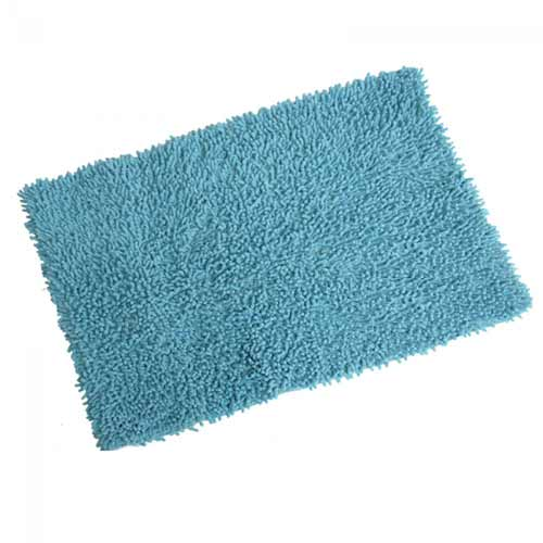 Bathroom carpet 50x80 light blue