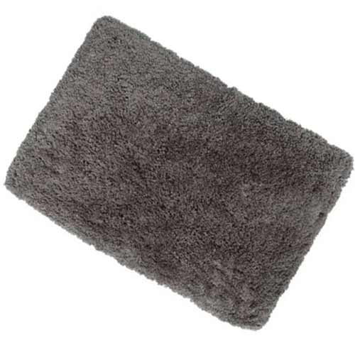 Bathroom carpet anthracite 60x100