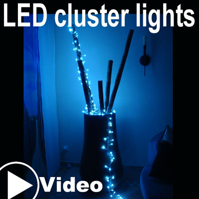 LED cluster lights kw