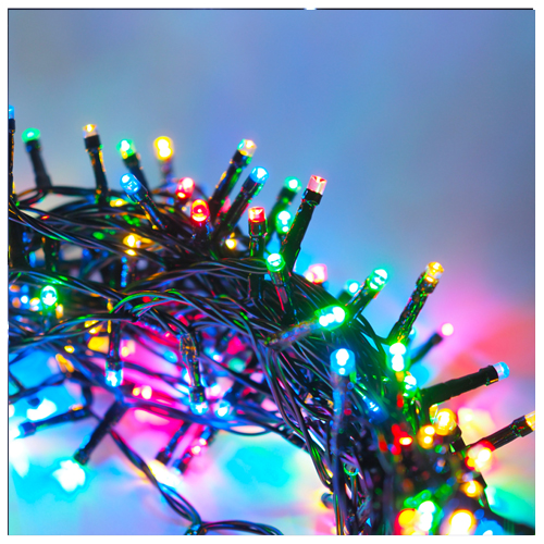 50 LED string multi