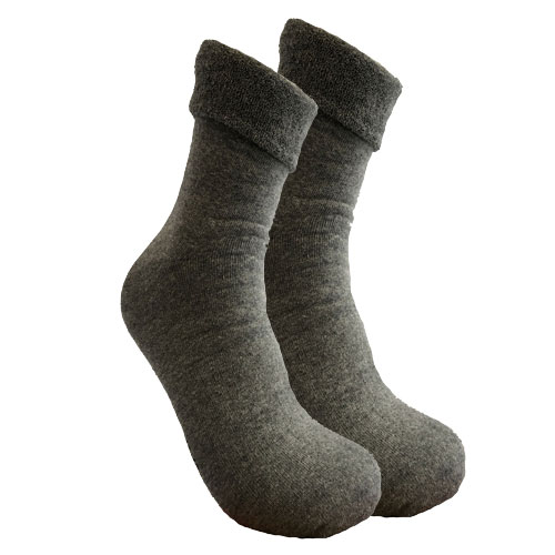 2 Paar Thermosocken Anthrazit 39-42