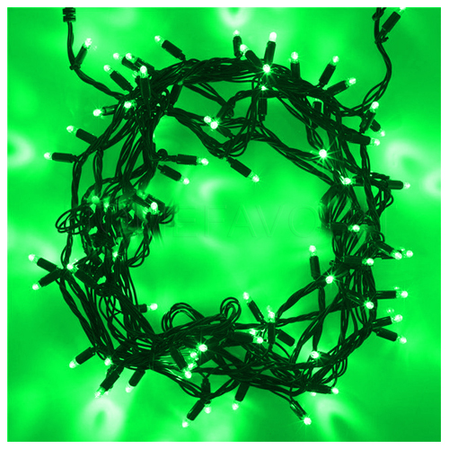 50 LED string green
