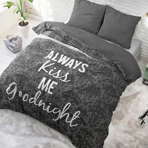 bedding bed linen always kiss me 135x200