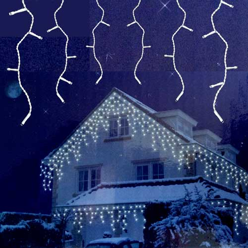extendable icicle lights