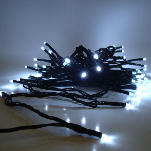 250 LED Lichterkette kaltweiß
