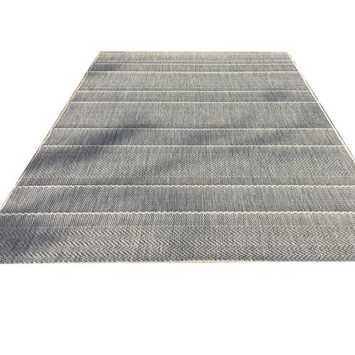 outdoor carpet 120x170 grey-blue
