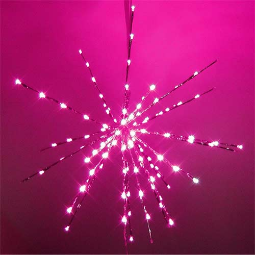 LED Star pink Lady
