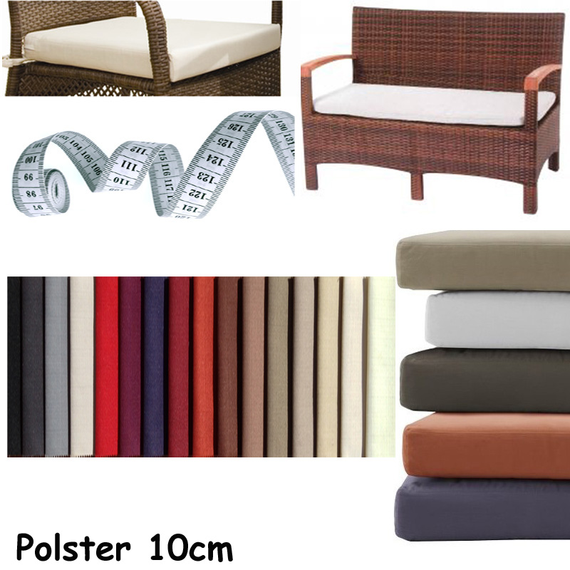 auflagen stuhl sessel sitzkissen lounge polster nach ma homefavorit. Black Bedroom Furniture Sets. Home Design Ideas