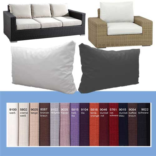 sofakissen couchkissen r ckenkissen kissen nach ma. Black Bedroom Furniture Sets. Home Design Ideas
