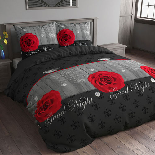 bettw sche sleeping roses 200x200 shop. Black Bedroom Furniture Sets. Home Design Ideas