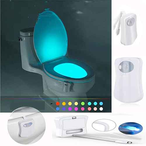 WC Toilettenlicht LED Sensor